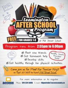 School Flyer 2