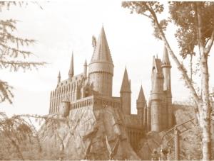 Hogwarts sepia